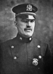 New York Police Dept. captain Thomas J. Tunney -- head of the NYPD's special anti-terror squad during World War I.