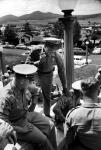 Short Creek raid, Arizona, 1953. Local police coordinate plans prior to raid.